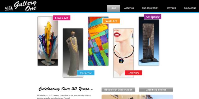 gallery one website
