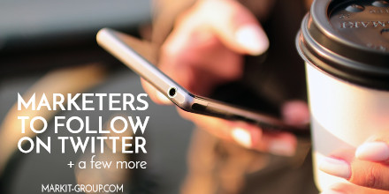 marketers to follow on twitter