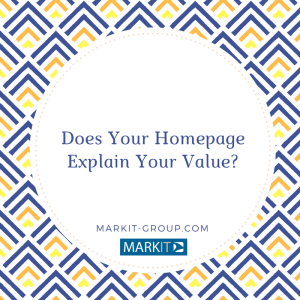 Does Your HomepageExplain Your Value-